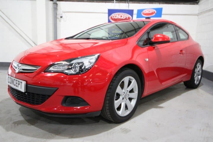 Used VAUXHALL ASTRA GTC SPORT S/S - Car Showroom Manchester