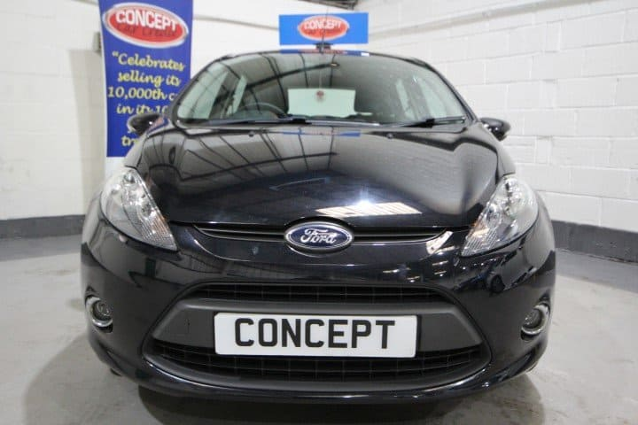 Used Ford Fiesta Edge Car Showroom Manchester