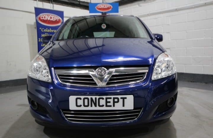 VAUXHALL ZAFIRA DESIGN full