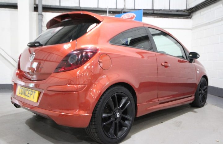 VAUXHALL CORSA LIMITED EDITION full