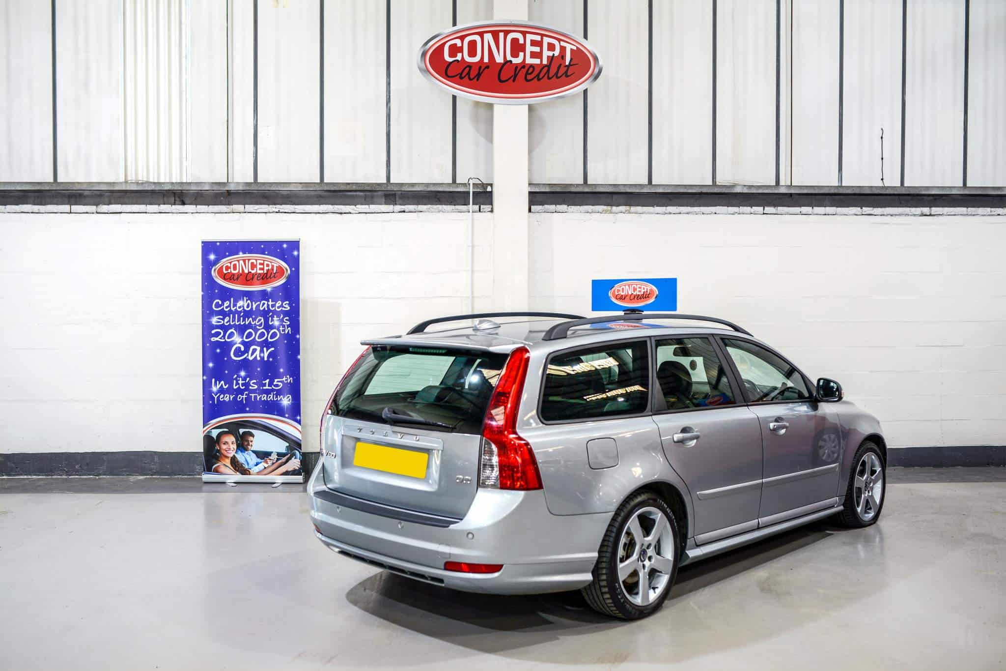 used volvo v50 r design d2 - car showroom manchester