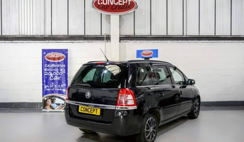 VAUXHALL ZAFIRA EXCLUSIVE full