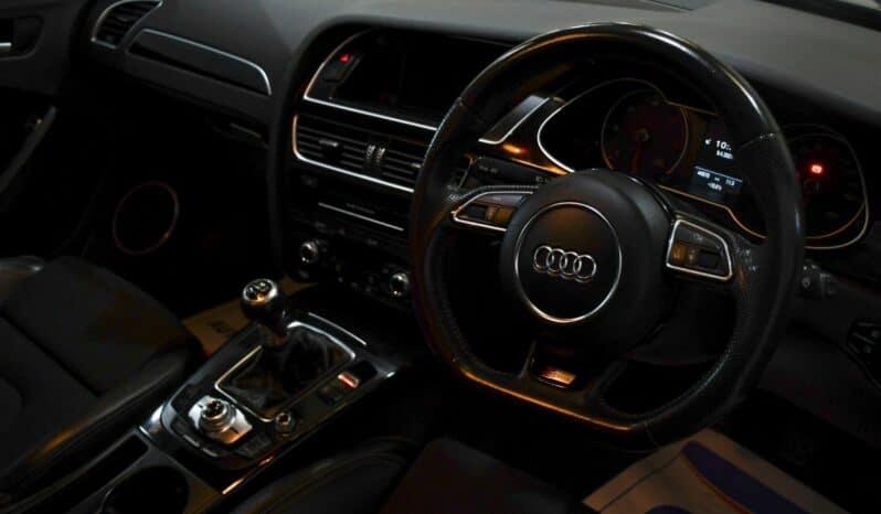 AUDI A4 2.0 TDI BLACK EDITION 4d 148 BHP full
